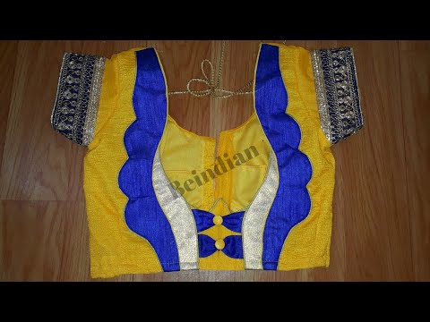 Beautiful blouse designing || Fashion blouse for women || Designer blouse for saree