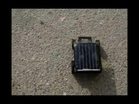 lightake:The Smallest Solar Powered Car Black