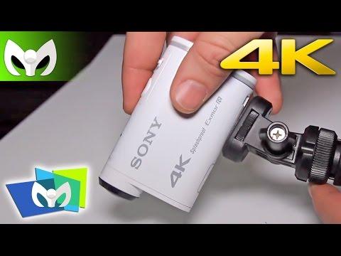 Sony Action Cam 4K @SonyLatin #CES2015