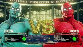 STREET FIGHTER V MODS URIEN AS DR MANHATTAN FROM THE WATCHMEN (PC ONLY)