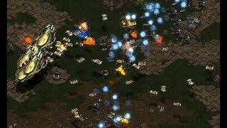 Sea (T) v Shuttle (P) on Fighting Spirit - StarCraft  - Brood War REMASTERED 2019