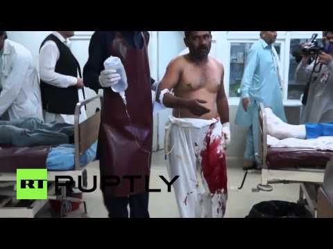 Afghanistan: Suicide bomb attack hits Afghan spy agency *GRAPHIC*
