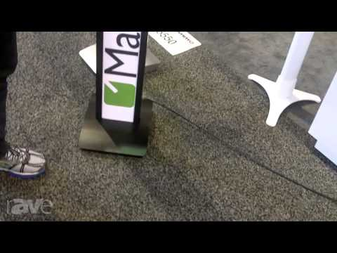 InfoComm 2013: Maclocks Talks About BrandMe Tablet Stand