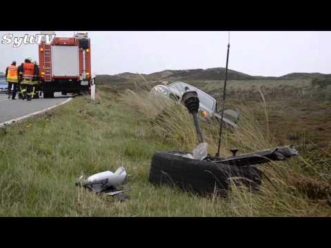 Verkehrsunfall in Kampen auf Sylt