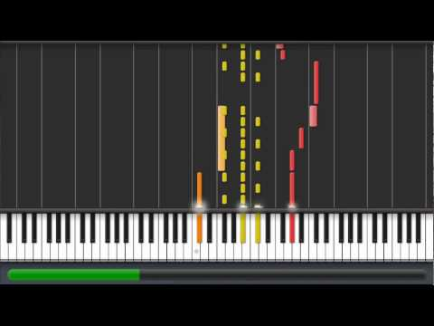 Crimson Loftwing | Skyward Sword | Synthesia Piano Tutorial + MIDI