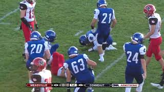 High School Football: Meadville vs Conneaut (Aug 31, 2018)
