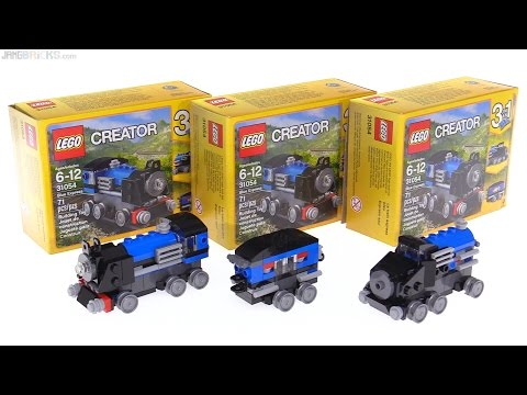 LEGO Creator 3-in-1 Blue Express review! 31054