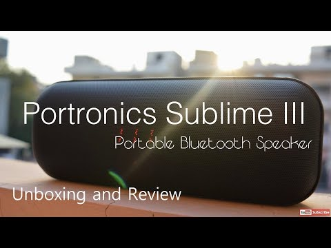Portronics Sublime 3   Unboxing and Review