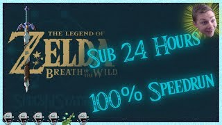 Breath of the Wild 100% in Under 24 HRS! Part 1