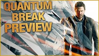 Quantum Break Preview: Time Powers & Live Action Show