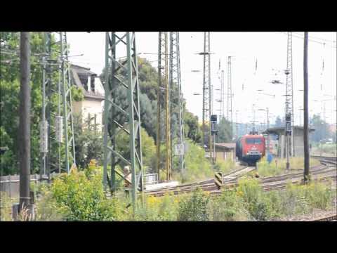 railfanning germany; BR 252 (DB-BR 156) der MEG
