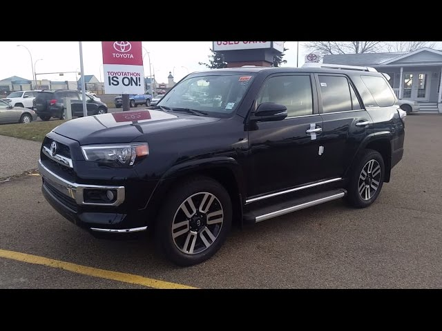 2017 Toyota 4Runner Limited First look with Detailed Review of features