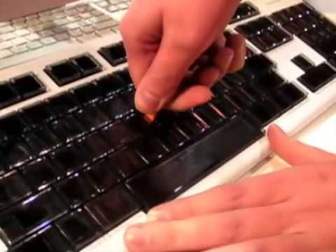 Optimus Maximus keyboard | Engadget at CES 2008