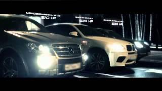 Mercedes ML63 AMG vs Porsche Cayenne Turbo S vs BMW X6 M HD