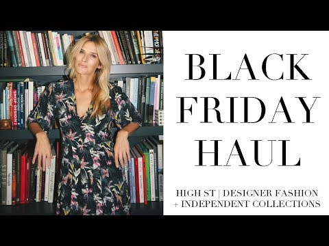 Black Friday Haul | Mango, High street, Designer fashion + more