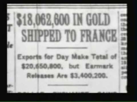 FDR Ends Gold Standard in 1933 (Video-Clip Englisch)