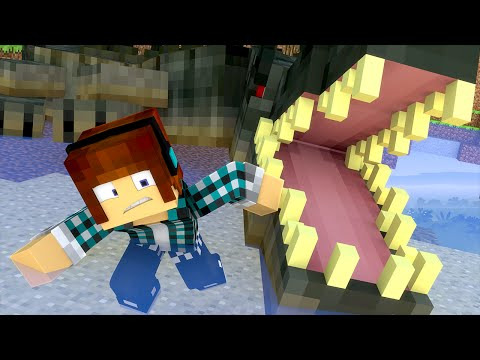 Minecraft: O MONSTRO GIGANTE  !! (Aventura Maluca #03) - FINAL