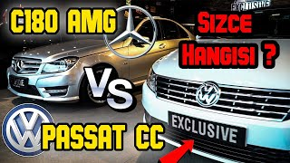 BEKLENEN KARŞILAŞTIRMA ! Vw CC VS Mercedes c180 AMG - AYNI FİYATA HANGİSİNİ ALMALI ?