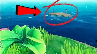 Ho trovato DUE SOPRAVVISSUTI nell'OCEANO! - Raft - EP.2