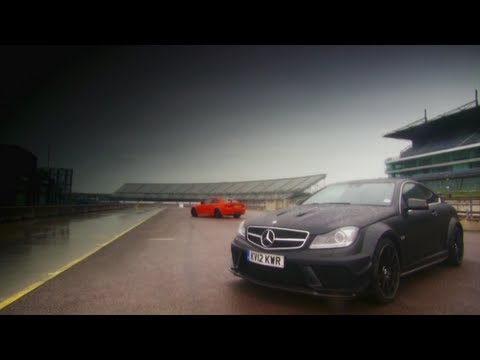 DRAG RACE: BMW M3 GTS vs Mercedes C 63 AMG - Fifth Gear