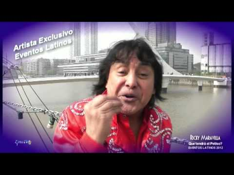 Ricky Maravilla que tendrá el petiso mix 2012 Eventos Latinos
