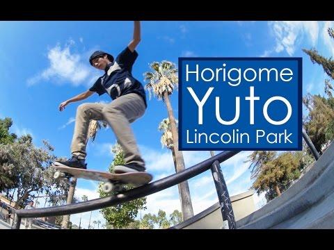 Yuto Horigome - 22 Tricks down the Lincolin rail