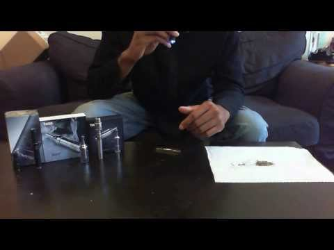 Using Glass Screen Filter to Vaporize Herb w Vaporizer Pen (Atmos Raw. Yocan 94F. Mak) Vape Tutorial