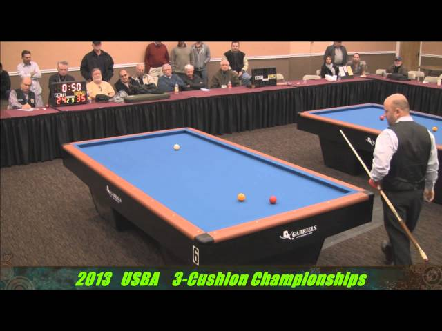 USBA 3 Cushion Championships 2013 part 2