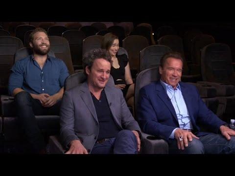 Inside 'Terminator Genisys' with Arnold Schwarzenegger