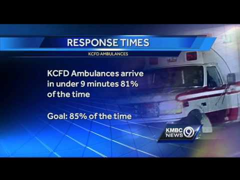 KC ambulance response times show improvement