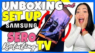 02. Unboxing and Installation Samsung Sero 2021