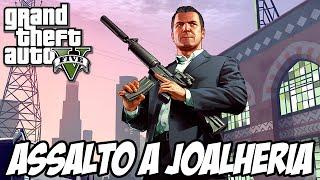GTA V Nova Geração - Assalto a Joalheria em primeira pessoa