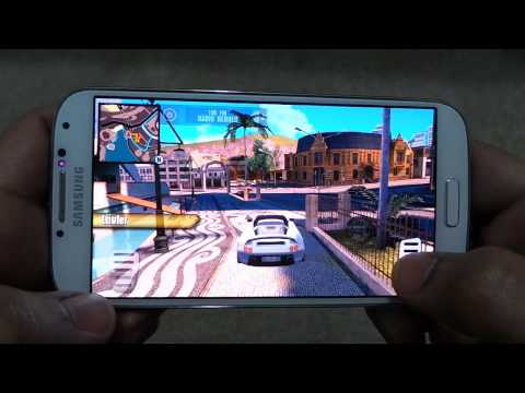 SAMSUNG GALAXY S4 GANGSTER RIO CITY OF SAINTS GAMEPLAY