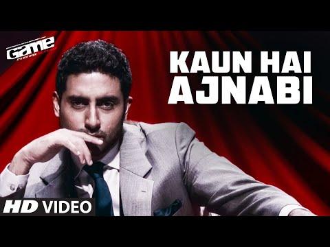 'Kaun Hai Ajnabi'  Game (Full Song) | Feat. Abhishek Bachchan, Kangana Ranaut