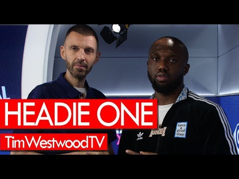 Headie One on Music X Road, burning a Range, OFB, drill, impact of 18 HUNNA - Westwood