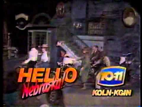 KOLN KGIN Hello Nebraska (10-11) promo 1988