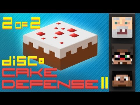 Minecraft Cake Defense II w/ BdoubleO, Chimneyswift, and GenerikB 2 of 2