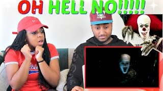 IT - Official Teaser Trailer REACTION!!!!