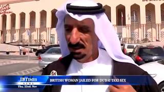 British woman jailed for Dubai taxi sex