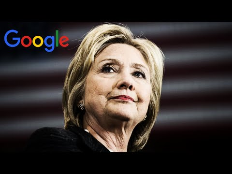 Anonymous - Google manipulating Hillary Clinton search results