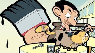 Fake Cat   Funny Episodes   Mr Bean Cartoon World