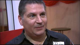 Gary Anderson interview after losing over Michael van Gerwen | World Darts Championship 2014