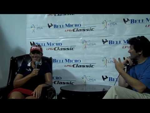Defending Champion Angela Stanford - 2010 Bell Micro LPGA Classic Video