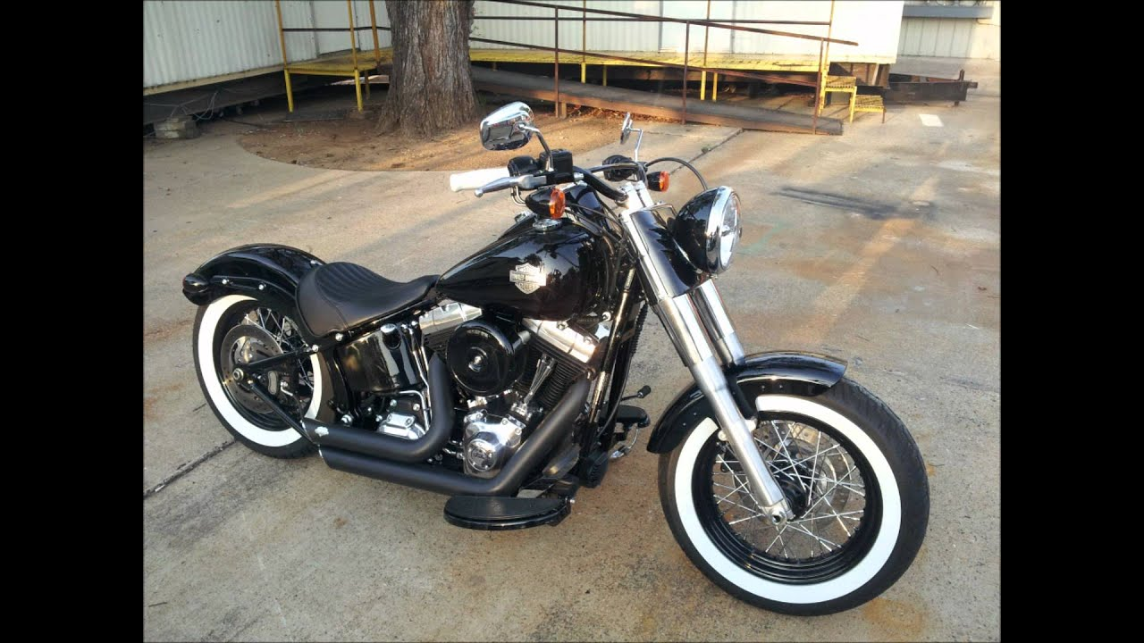 2013 harley softail slim bad a youtube. Black Bedroom Furniture Sets. Home Design Ideas