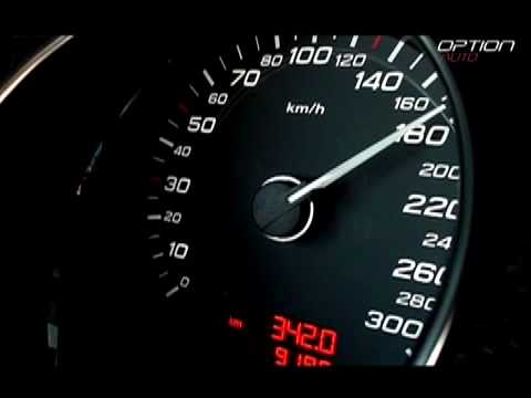 280 km/h en Audi S8 (Option Auto)