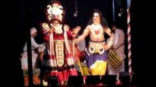 Yakshagana tenkutittu Divakara Rai Sampaje Ayyappa