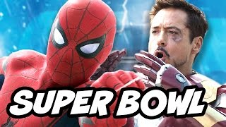 Spider Man Homecoming Super Bowl Trailer Update and Miles Morales Movie Reaction