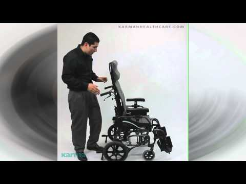 Vip-515 Lightweight Tilt-in-space - By Karman Healthcare video