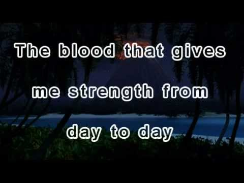 The blood That Jesus shed for me ! Awesome song ! Oldie but goodie !