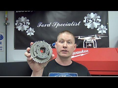 Ford 4.6L & 5.4L 3v Engines: Camshaft Phaser Failure Inspection